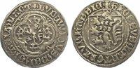 Kronengroschen nach 1436 Hessen Ludwig I. ...