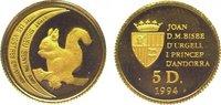 5 Diners Gold 1994 Andorra  Polierte Platte