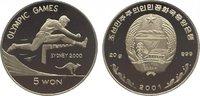 5 Won 2001 Korea-Nord  Polierte Platte  29,00 EUR  +  10,00 EUR shipping