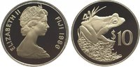 10 Dollars 1986 Fidschi Inseln / Fiji Isla...