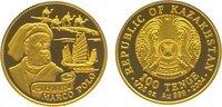 100 Tenge Gold 2004 Kasachstan  Polierte P...