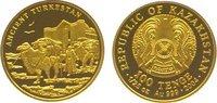 100 Tenge Gold 2004 Kasachstan  Polierte Platte  69,00 EUR  +  10,00 EUR shipping