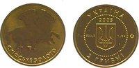 2 Hryvnias Gold 2005 Ukraine  Polierte Platte