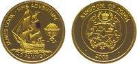10 Pa'anga Gold 2003 Tonga Topou IV. seit 1965. Kl. Fleck, polierte Pla... 59,00 EUR  +  10,00 EUR shipping
