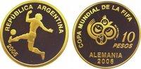10 Pesos Gold 2005 Argentinien Republik seit 1816. Polierte Platte  345,00 EUR  +  10,00 EUR shipping