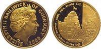 25 Pounds Gold 2006 Großbritannien-Guernse...