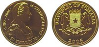 50 Shillings Gold 2005 Somalia Republik. A...