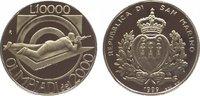 10000 Lire 1999 Italien-San Marino  Polier...
