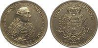 Silbermedaille 1759 Schleswig-Holstein-Plö...