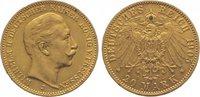 20 Mark Gold 1905  J Preußen Wilhelm II. 1...