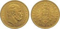 20 Mark Gold 1886  A Preußen Wilhelm I. 18...