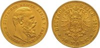 10 Mark Gold 1888  A Preußen Friedrich III...