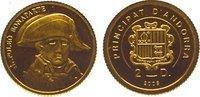 2 Diners Gold 2008 Andorra  Polierte Platte