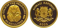 50 Shillings Gold 2002 Somalia Republik. A...