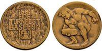 Bronzemedaille 1912 SCHWEIZ Turnfest in Ba...