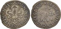 1 Sol 1684 STRASSBURG FRANZÖSISCHE PRÄGUNG...