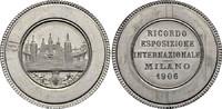 Alu-Medaille 1906 MAILAND Weltausstellung ...
