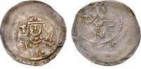 Pfennig 1207-1223 WÜRZBURG OTTO I. VON LOB...