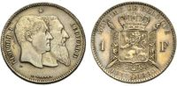 Franc 1880 BELGIEN zum 50jährigen Bestehen...