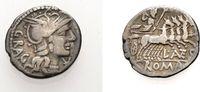 Denar 136 v. Chr. ROM, KAISERZEIT L. ANTES...