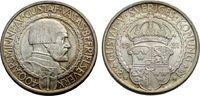 2 Kronen 1921 SCHWEDEN Unabhängigkeit Vorz...