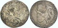 ITALIEN, KIRCHENSTAAT Bianco (mezza Lira) PIUS IV. (GIOVANNANGELO DE\'MEDICI), 1559-1565