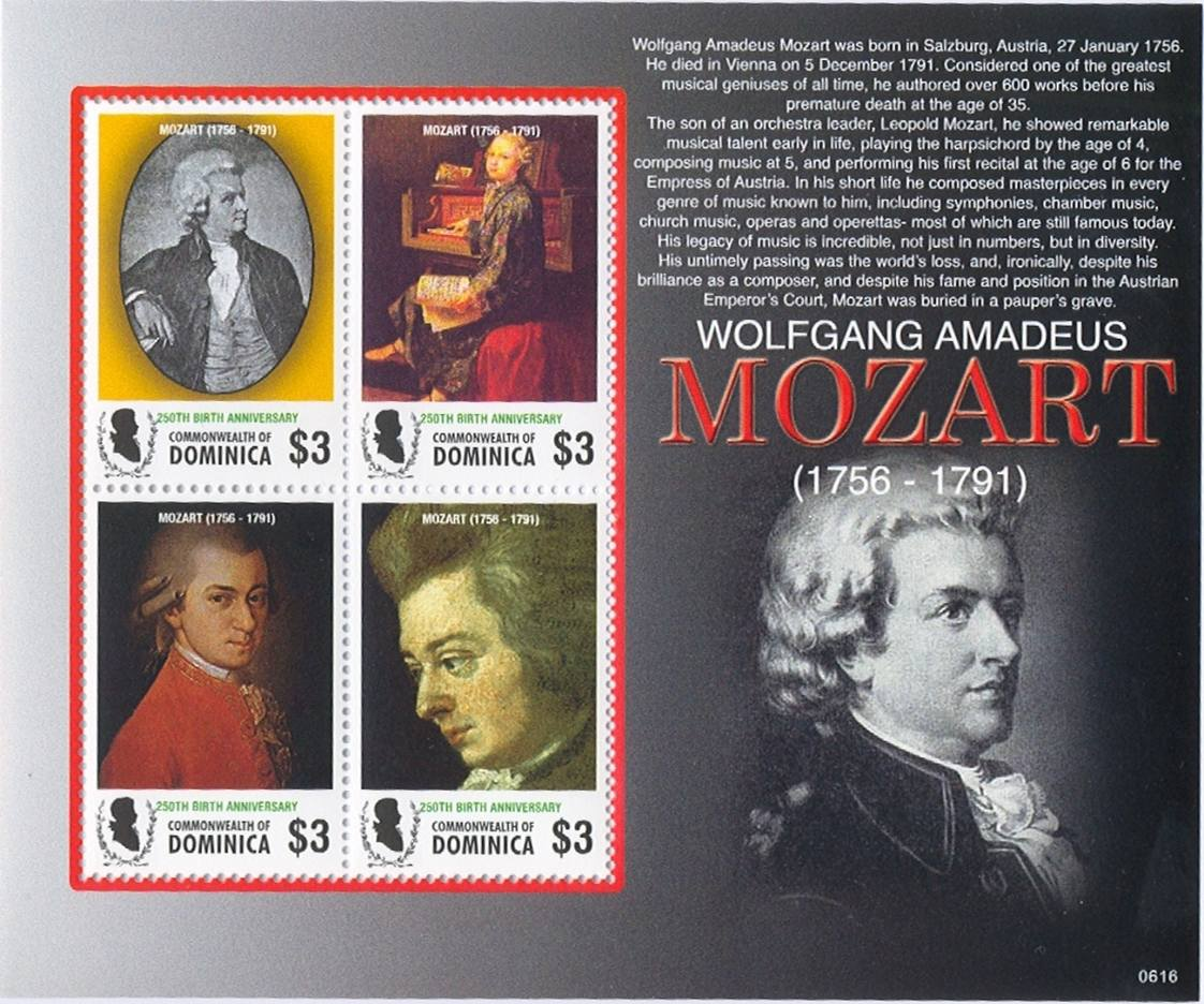 wolfgang amadeus mozart and his influence in music Wolfgang amadeus mozart's name is familiar even to people who know little or none of his music however, mozart's fame is based on two different frames of reference: firstly, being the most famous child prodigy in music history (as both a performer and a composer) and secondly, his unquestioned brilliance as an adult composer of.