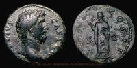 As 137 AD. Roman Empire Aelius Caesar, Rome mint, As, RIC 1067. s-ss  129,00 EUR  +  7,00 EUR shipping