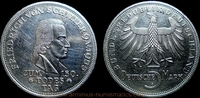5 Deutsche Mark 1955 Bundesrepublik Deutschland 150th anniversary of th... 179,00 EUR  +  7,00 EUR shipping