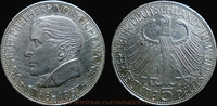 5 Deutsche Mark 1957 Bundesrepublik Deutschland 100th Anniversary of Jo... 159,00 EUR  +  7,00 EUR shipping