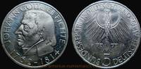 5 Deutsche Mark 1964 Bundesrepublik Deutschland 150th anniversary of Jo... 25,00 EUR  +  7,00 EUR shipping