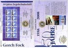 Deutschland 10 Euro Numisblatt 4/2008 - 50 Jahre Segelschulschiff »Gorch Fock II«