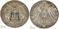 3 Mark 1912 (J) Deutschland, Freie und Han...