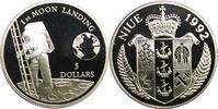 5 Dollars 1992 Niue Meilensteine der Raumfahrt (Moon Landing) PP offen  16,00 EUR  +  6,80 EUR shipping