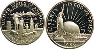1/2 Dollar 1986 Amerika, Vereinigte Staaten, USA, America 100 Jahre Fre... 7,00 EUR incl. VAT., +  4,50 EUR shipping