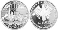 10 Euro 2010 D Deutschland, BRD 175 Jahre ...