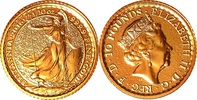 10 Pounds 2016 Großbritannien 1/10 oz Brit...