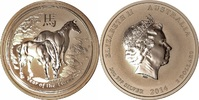 2 Dollars 2014 Australien 2 oz Lunar II (P...
