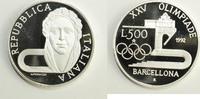 500 Lire 1992 Italien XXV. Olympische Somm...
