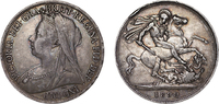 Crown 1899 London Great Britain Victoria, ...