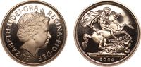 Gold Proof Sovereign 2004 London Great Bri...