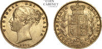 Gold Sovereign 1855 London Great Britain V...