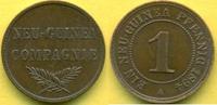 1 Pfennig 1894 Deutsch-Neuguinea  vz+