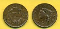 1 Cent 1836 USA  ss