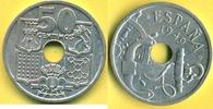 50 Centimos 1949 (51) Spanien Selten, mit ...