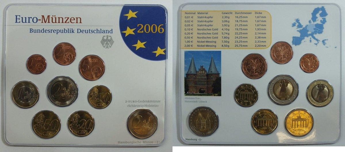 583 2006 J Bund Spanien Kms Mit 2 Euro Schleswig Holstein St Ma