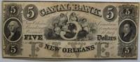 5 $  USA New Orleans unsigniert 2
