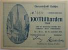 100 Milliarden Mark 1923 Waldsee  1