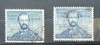 1952 Bund Michel Nr. 2 x 150  75 Jahre Ot...