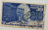 30 Pf 1949 Bund Michel Nr. 116 gestempelt